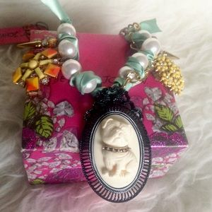 Betsey Johnson Pearl Necklace